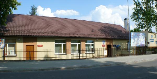 Stary budynek biblioteki w Woli Rzędzińskiej