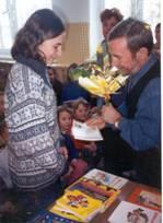 Spotkanie z pisarzem Andrzejem Grabowskim