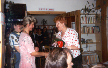 40 lat biblioteki w Tarn.