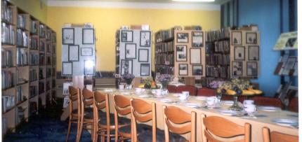 Nowy lokal biblioteki w Tarn.