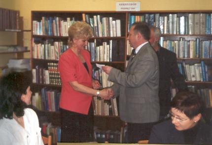 50 lat biblioteki w Tarn.